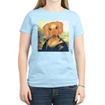 Mona Dachshund Women's Light T-Shirt