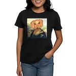 Mona Dachshund Women's Dark T-Shirt