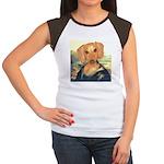 Mona Dachshund Women's Cap Sleeve T-Shirt