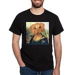 Mona Dachshund Dark T-Shirt