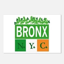 New Bronx Irish Postcards (Package of 8)