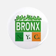 "New Bronx Irish 3.5"" Button"