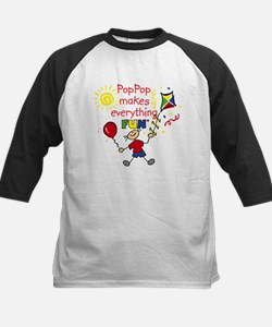 PopPop Fun Boy Kids Baseball Jersey