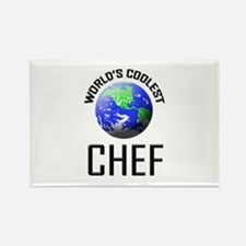 World's Coolest CHEF Rectangle Magnet