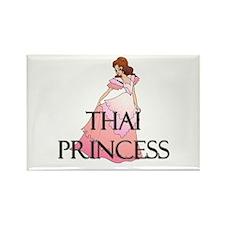 Thai Princess Rectangle Magnet