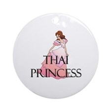 Thai Princess Ornament (Round)