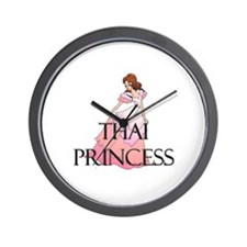 Thai Princess Wall Clock