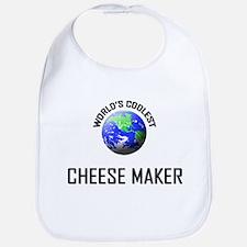 World's Coolest CHEESE MAKER Bib