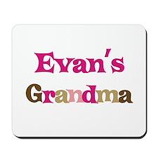 Evan's Grandma  Mousepad