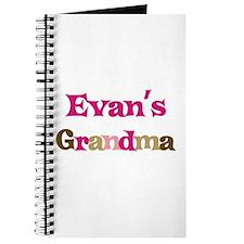 Evan's Grandma Journal