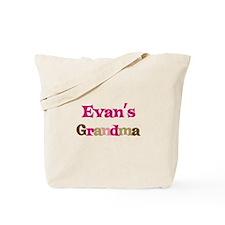 Evan's Grandma Tote Bag