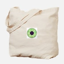 Green Eyeball Tote Bag