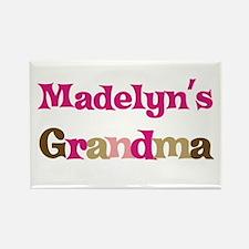 Madelyn's Grandma Rectangle Magnet