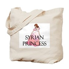Syrian Princess Tote Bag
