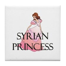 Syrian Princess Tile Coaster