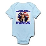 Angry Uncle Sam Infant Creeper