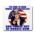 Angry Uncle Sam Mousepad