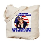 Angry Uncle Sam Tote Bag