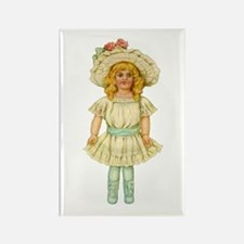 CHINA DOLL Rectangle Magnet