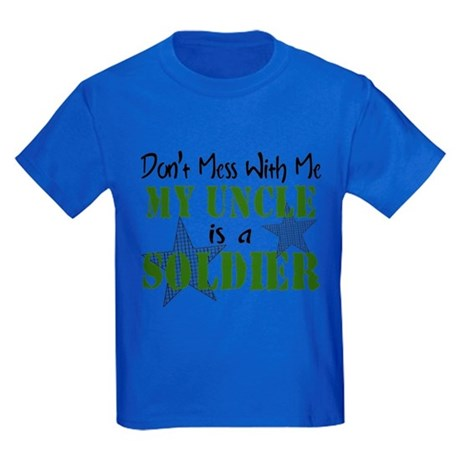Don't Mess With Me Kids Dark T-Shirt