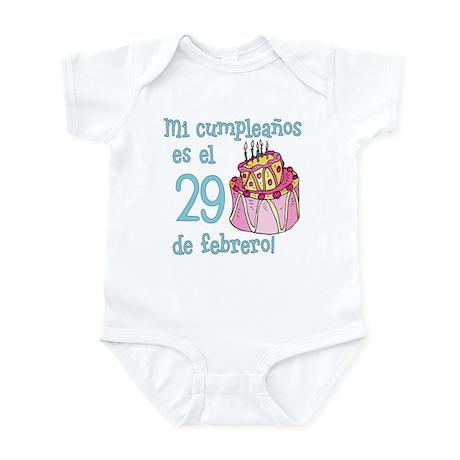 Mi Cumpleanos 02/29 Infant Bodysuit