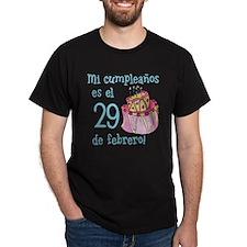 Mi Cumpleanos 02/29 T-Shirt