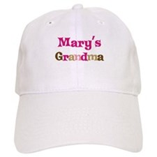 Mary's Grandma Baseball Cap