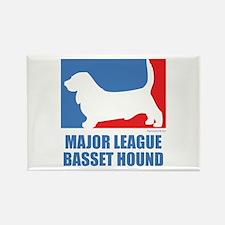 ML Basset Rectangle Magnet (100 pack)