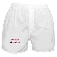 Isaiah's Grandma  Boxer Shorts