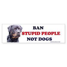 Rottweilers! Bumper Bumper Sticker