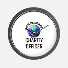 World's Coolest CHARITY OFFICER Wall Clock