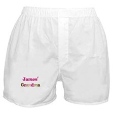 James's Grandma  Boxer Shorts