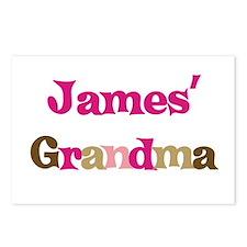 James's Grandma  Postcards (Package of 8)