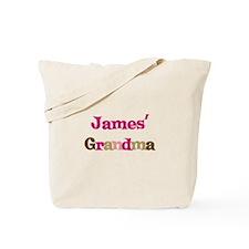 James's Grandma  Tote Bag