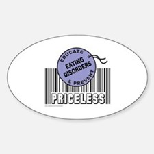 EDUCATE AND PREVENT EATING DISORDERS Decal