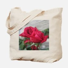 A001-RED ROSE Tote Bag