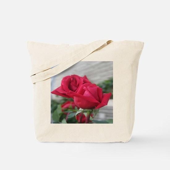 A001-RED ROSE Tote Bag
