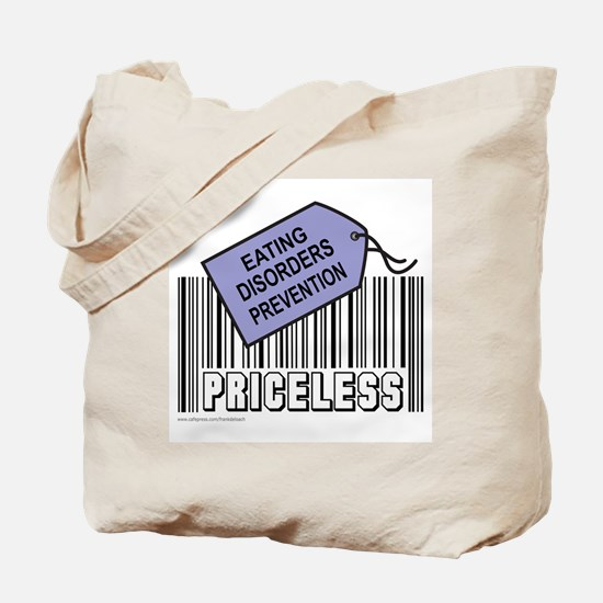 EATING DISORDERS PREVENTION Tote Bag
