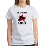 Craftster Army Women's T-Shirt