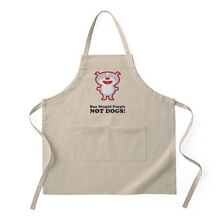 Ban Stupid People BBQ Apron
