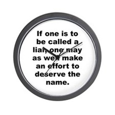 Cute Aa quotes Wall Clock