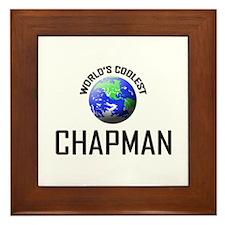 World's Coolest CHAPMAN Framed Tile