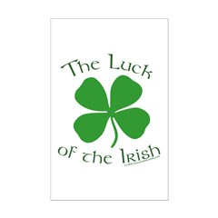 Luck of the Irish Posters
