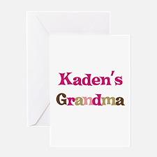 Kaden's Grandma Greeting Card