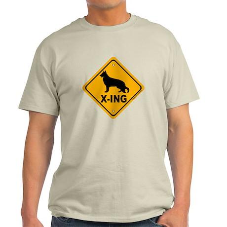 German Shepherd X-ing Light T-Shirt