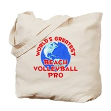 World's Greatest Beach.. (F) Tote Bag