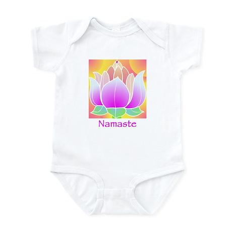 Bejeweled Lotus Flower Infant Bodysuit