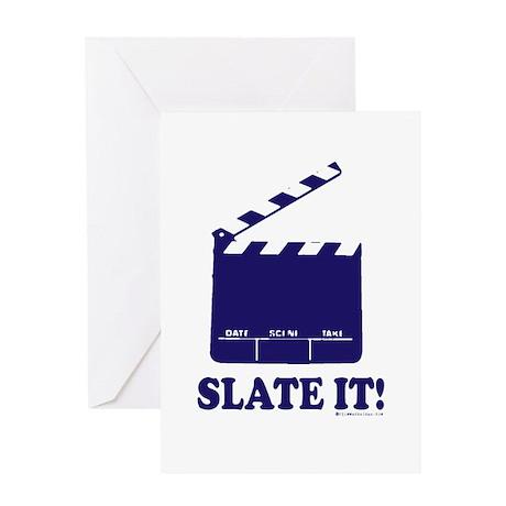 Slate It! Greeting Card