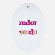 Landon's Grandma  Oval Ornament