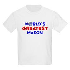 World's Greatest Mason (A) T-Shirt